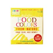 Color Kitchen Food Coloring Yellow - 5 Packets Per Box (Fntr09619)