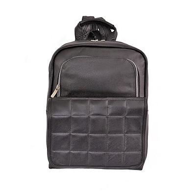 Piel Leather Ladies Quilted Leather Backpack, Black(PIEL1952)