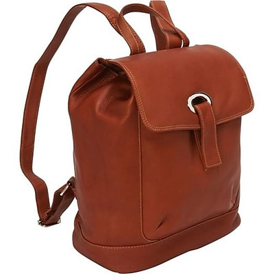 Piel Leather Large Oval Loop Backpack -