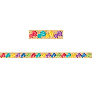 Creative Teaching Press Bold & Bright Push Pins Small Magnetic Decor Strips, 12/Pack (CTP8403)