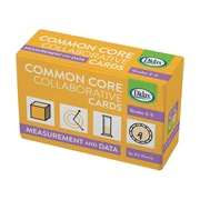 Measurement and Data Common Core Collaborative Cards, 120/pack (DD-211527)