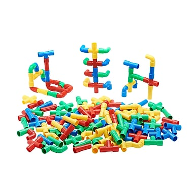ECR4kids Totally Tubular Pipes and Spouts, Assorted, 4/Set (ELR19204)