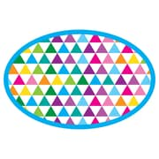 Color Triangles Magnetic WB Erasers, 6/set (ASH09994) by