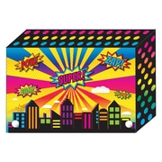 Super City Index Card Boxes 3x5IN Decorated Poly, 6/set (ASH90300)
