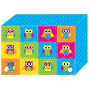 "Ashley Productions Index Card Boxes, Colour Owls, 4"" x 6"", 6/Set (ASH90402)"