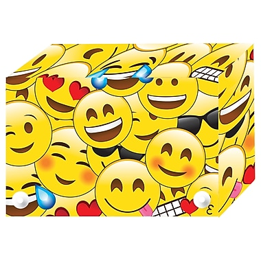 Ashley Productions Index Cards Boxes, Emoji, 3