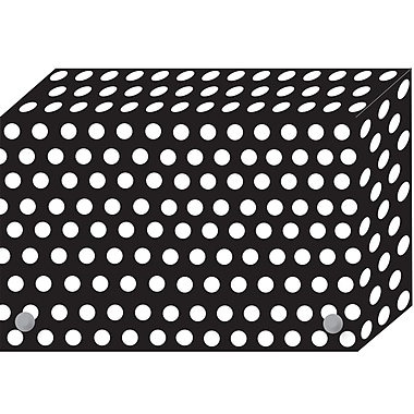 Ashley Productions Index Card Boxes, Dots, 3