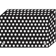 "BW Dots Index Card Boxes 3x5"" Decorated Poly, 6/set (ASH90301)"