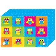 """Ashley Productions Index Card Boxes, Colour Owls, 3"""" x 5"""", 6/Set (ASH90302)"""