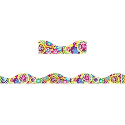Ashley ASH11412, Magnetic Border, Color Snowflakes