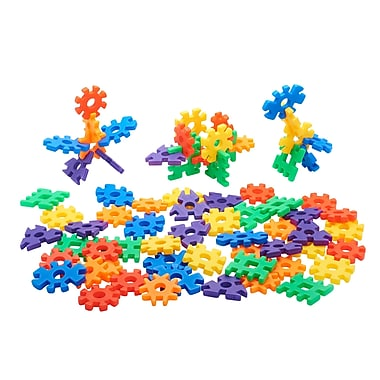 ECR4kids 3D Building Blocks, Assorted, 4/Set (ELR19202)