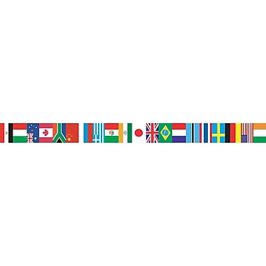 Teacher Created Resources International Flags Spotlight Border, 12/Pack (EP-595)