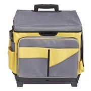 Yellow Rolling Cart/Organizer Bag (ELR0550BYE)