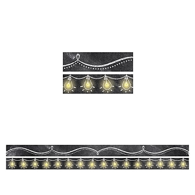 Creative Teaching Press CTP8933, Chalk It Up Magnetic Border Strips Pack