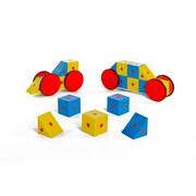 3-D Magnetic Blocks 20 Piece Set, Assorted (EA-9)