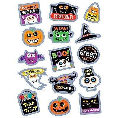 Creative Teaching Press Halloween Rewards Stickers, 75ct per pk, bundle of 12 packs (CTP4200)