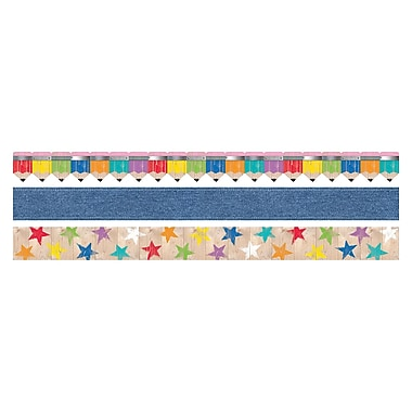 Creative Teaching Press Upcycle Style Matching Border, 12/Set (CTP8930)