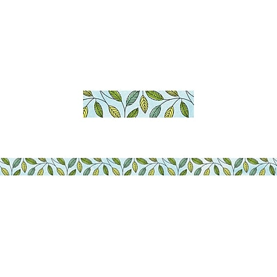 Creative Teaching Press CTP8401, Safari Friends Safari Leaves Magnetic Decor Strips-Large