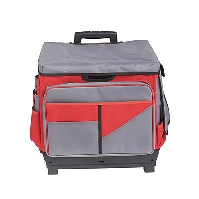 Red Rolling Cart/Organizer Bag (ELR0550BRD)