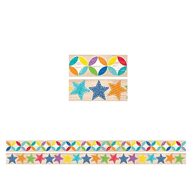 Creative Teaching Press Upcycle Style Border Strips, 12/Set (CTP8934)