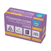 Geometry Common Core Collaborative Cards, 120/pack (DD-211528)