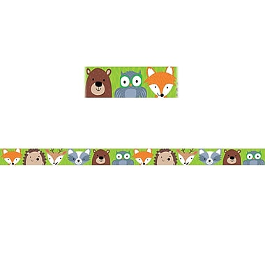 Creative Teaching Press Woodland Friends Magnetic Decor Strips, 12/Pack (CTP8397)