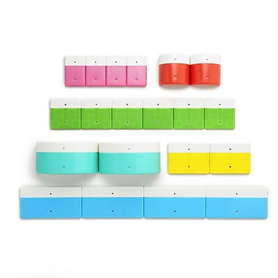 Kid O Products, Alphabuild Assorted Colors, 20/set