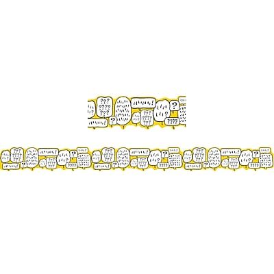Eureka EU-845388, Peanuts? Touch of Class Bubbles Deco Trim? Extra Wide Die Cut
