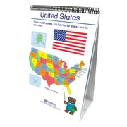 """New Path Geography Early Childhood Social Studies Readiness Flip Chart, 12"""" x 18"""" (NP-350024)"""