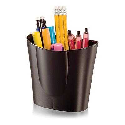 Achieva Big Pencil Cup, Black, 6/set (OIC26218)