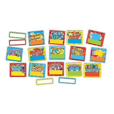Eureka Dr. Seuss Stand Job Chart Mini BB Set, 8/set (EU847613)
