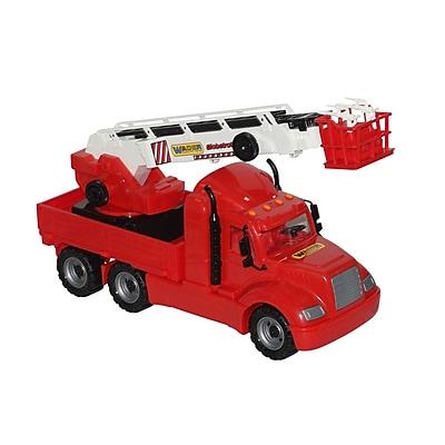 KSM LTD Volvo Fire Truck, Ages 2+ (KSM55620)