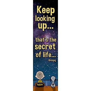 Eureka Peanuts Keep Looking Up Vertical Banner (EU-849465)