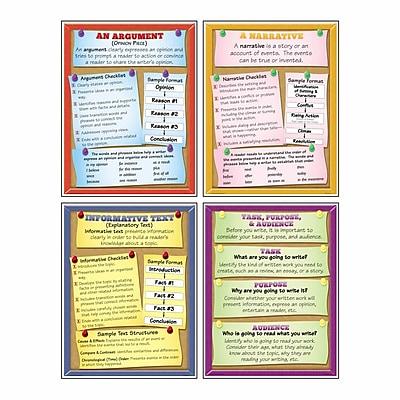 McDonald Publishing Text Types Teaching Poster Set, 9/set, 22