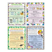 "McDonald Publishing, Personal Finance Math Poster Set, 22"" x 17"" (MCP139)"