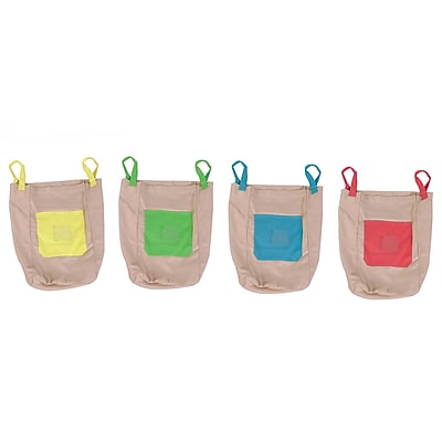Pacific Play Tents, Cotton Canvas Jumping Sacks, 5+ Assorted Colors, 4/pk (PPT94000)