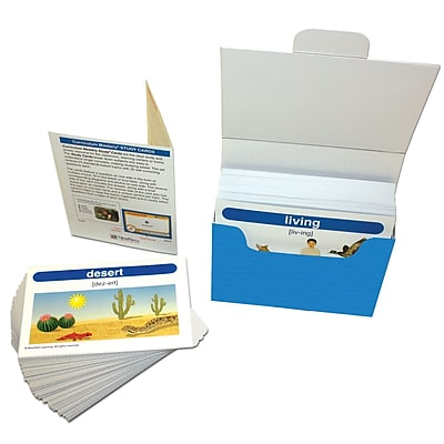 GR 1-2 Science Vocabulary Builder Flash Card Set, 201/pack (NP-441011)