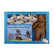 """The Puppet Company, Traditional Story Sets Three Billy Goats Gruff, 13.5"""" x 9.5"""", 5/set (PUC007908)"""
