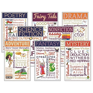 McDonald Publishing,Literary Genres Chatter Charts 8/st, 11