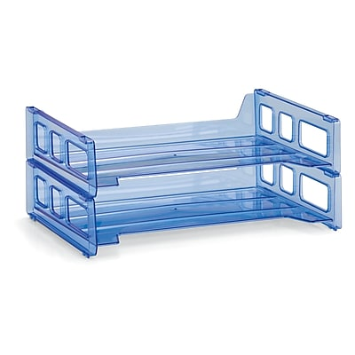 Officemate Side Load Tray, 3 Packs, 2/Pack (OIC23228)