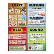 "McDonald Publishing, Force Motion Sound & Heat Teaching Poster Set, 22"" x 17.5"", 9/set (MC-P207)"