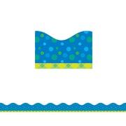 Scholastic SC-812791, Tape It Up! Bubbling Blues Trimmer