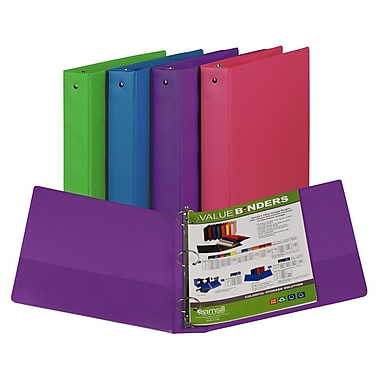 Samsill Fashion Colour 3 Ring Binder 2