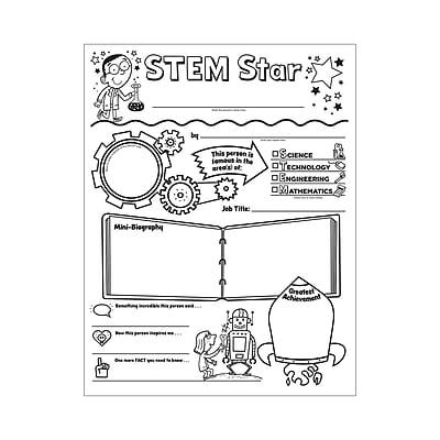 Scholastic, Personal Posters Stem Star Initiative, 30/st, 9