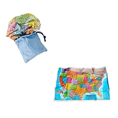 Round World Products, USA Scrunch Map, 24