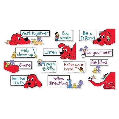 Scholastic Clifford Class Rules Mini BB St, 13/set (SC-581925)