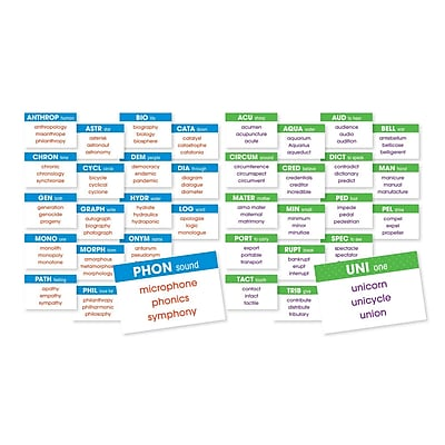 Scholastic Greek & Latin Roots Mini BB Set, 36/set (SC-581929)