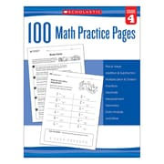 Scholastic 100 Math Practice Pages for Grade 4 (SC-579940)