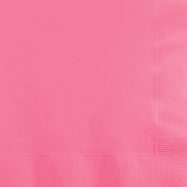 Touch of Color Candy Pink Beverage Napkins 3 ply 50 pk (573042B)