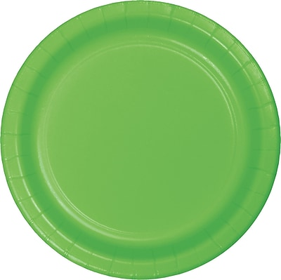 Celebrations Fresh Lime Green Paper Plates 8 pk (553123)